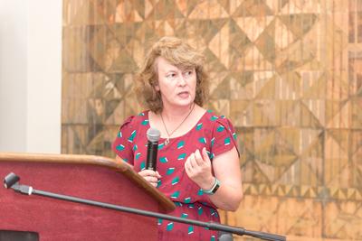 Lisa Spiro At The Podium