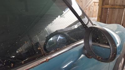 Second Car Damage After Harvey
